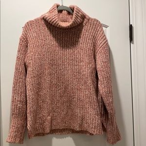 JCrew Point Sur Chunky Turtleneck Sweater, Large